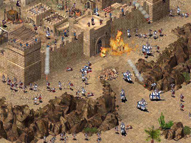 Stronghold Crusader. Информация и файлы для игры.